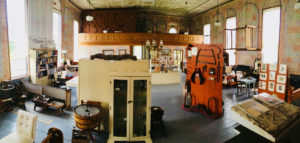 Interior of the Lower Selma Museum.