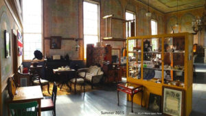 Interior shot of the Lower Selma Museum