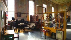 Interior shot of the Lower Selma Museum